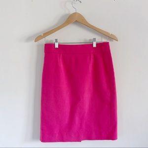 J. Crew Pink Pencil Skirt